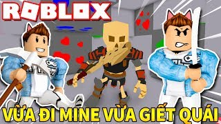 Roblox | THERE Is BOTH The HUNTER And GO MINE Is MONSTER HUNTER-Mob Miners | Kia Breaking