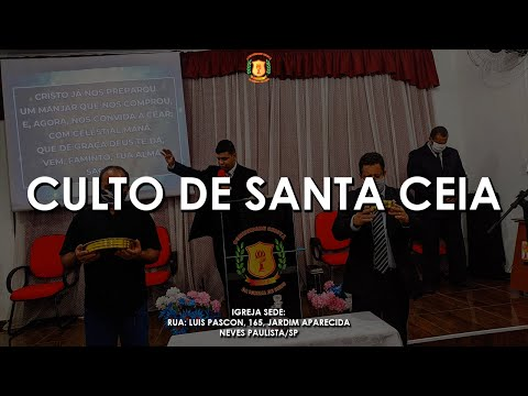 Pr. Marcos Zacca | Santa Ceia do Senhor | 05/06/2021