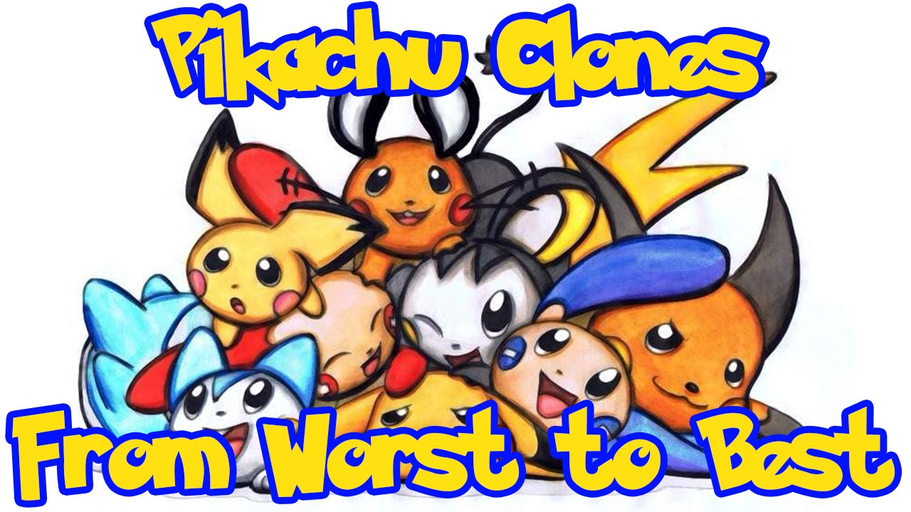 Pikachu Clones Ranked From Worst To Best Youtube