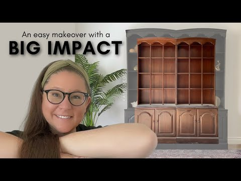 An easy makeover with a BIG IMPACT | Free Furniture Flip!