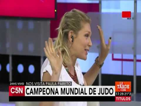 C5N - Deportes: Entrevista a Paula Pareto, campeona mundial de judo