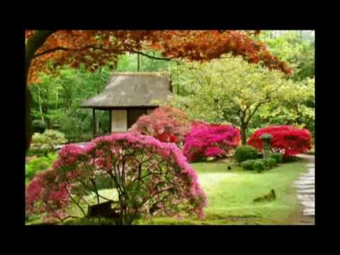 Jardines japoneses y m sica japonesa youtube for Figuras para jardin zen