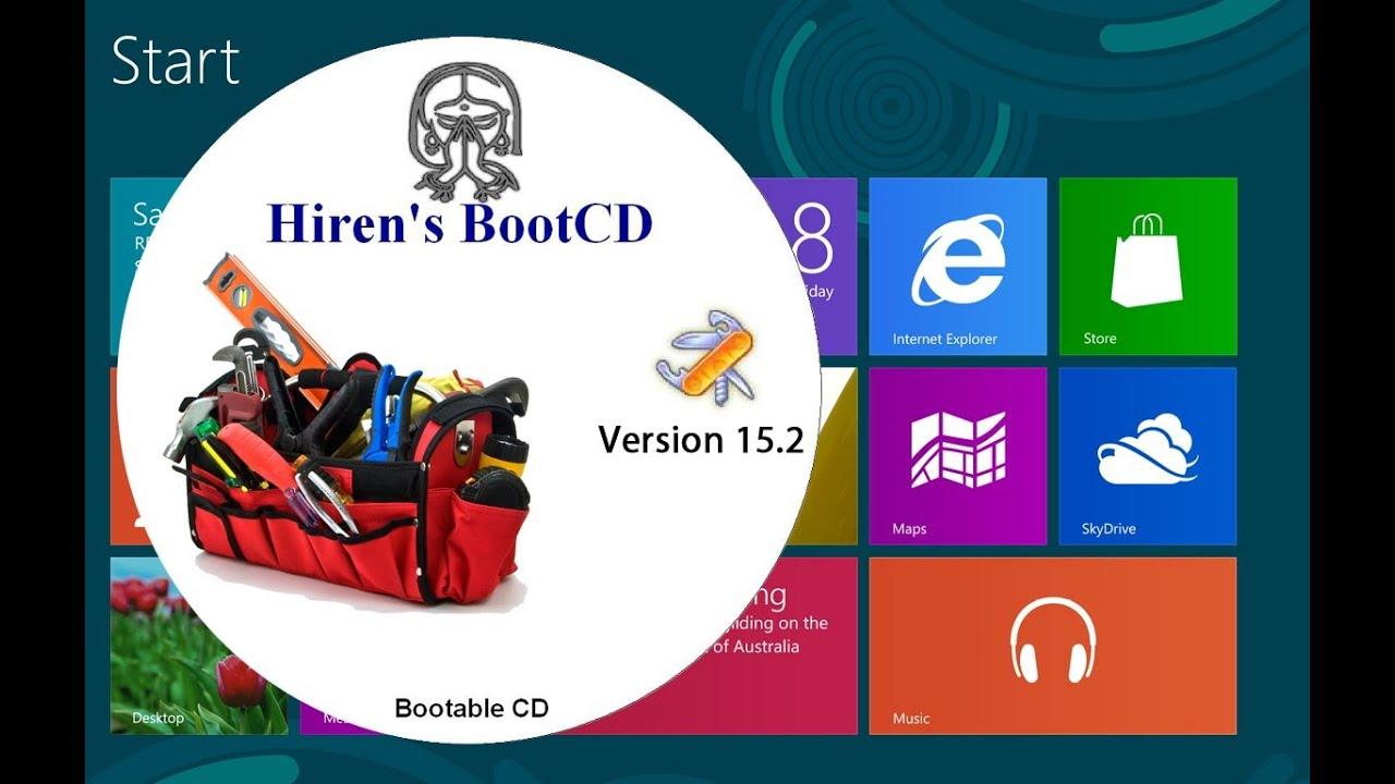 hirens boot cd windows 10