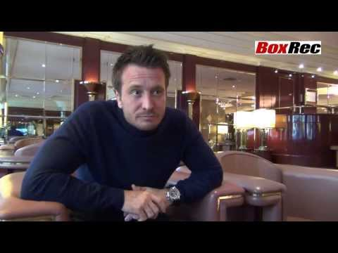 Kalle Sauerland Boxrec News Interview Part 2, Stuttgart, 25th January 2014