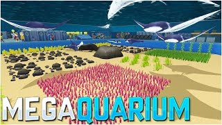 THE MEGA FISH TANK IS UNBELIEVABLE!! - Megaquarium Gameplay