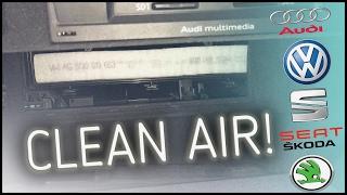 AUDI A3 2013 8V 2.0 TDI - CABIN POLLEN FILTER CHANGE