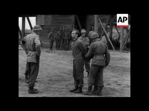 German Spies Executed   1945   NO SOUND