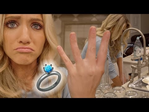 SAVANNAH LOST HER WEDDING RING DOWN THE DRAIN!!!