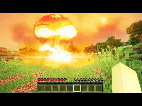 Minecraft, But TNT Explosions Are 1000x Bigger...