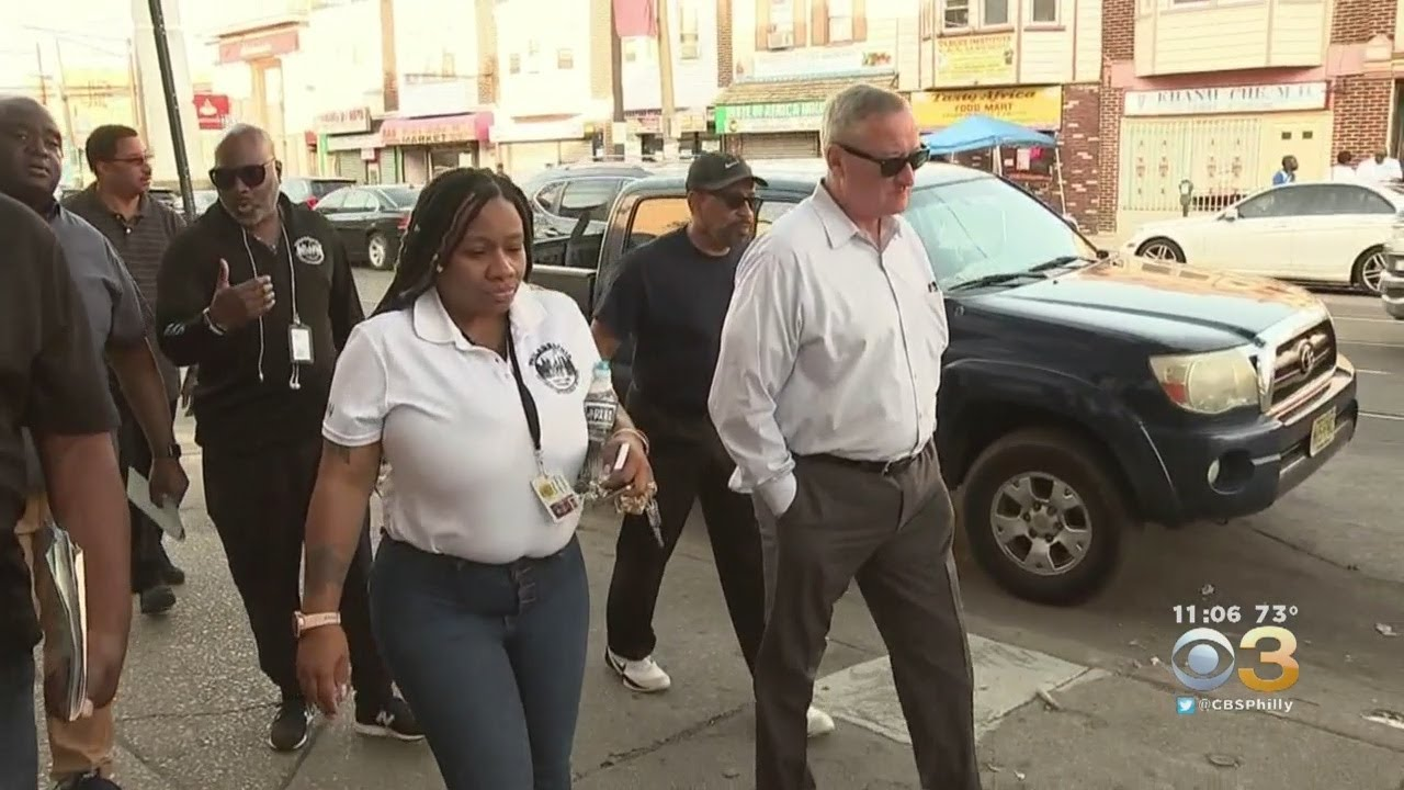 Mayor Jim Kenney Toured Philadelphia With City's Crisis ...