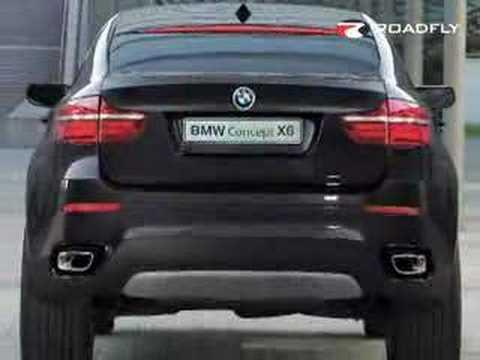 Roadfly Com Bmw X6 Concept Youtube