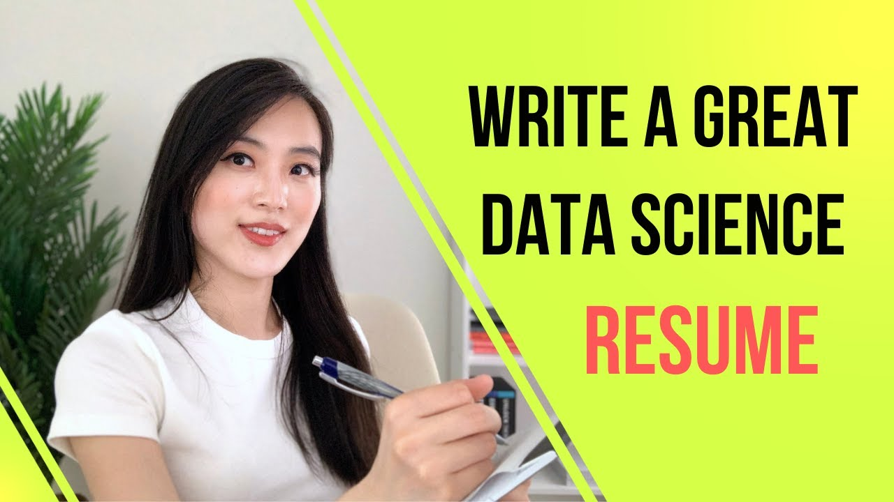 How to Write a Great Data Science Resume | Data Science Interview