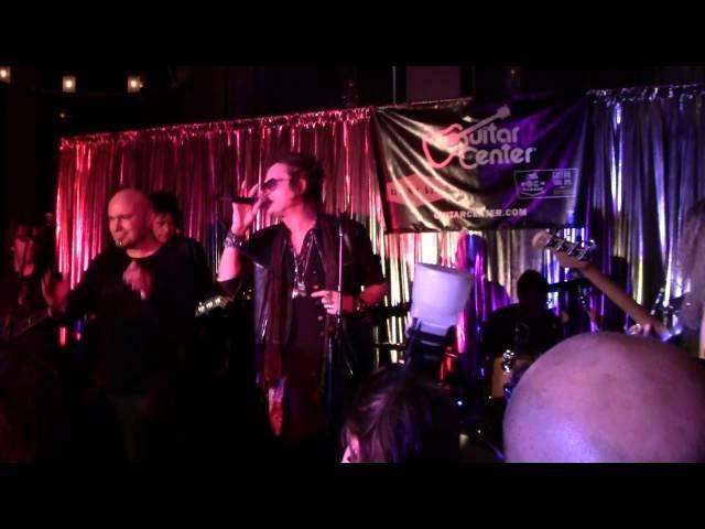 Glenn Hughes of Deep Purple Johnny A Tal Wilkenfeld @ 2012 BMAs