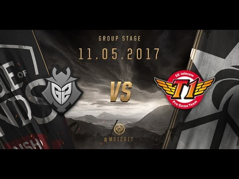 [11.05.2017] G2 vs SKT [MSI 2017][Group Stage]