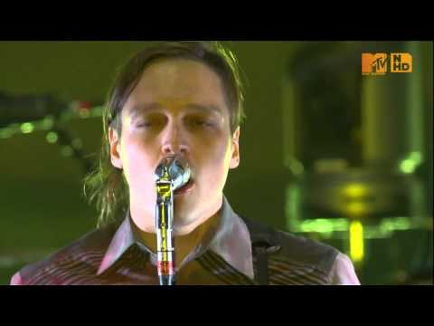 Arcade Fire  Ready to Start HD  MTV World Stage 2010