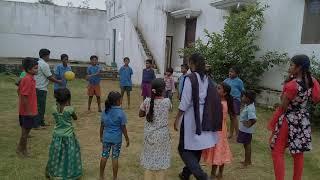 Cristian children playing game