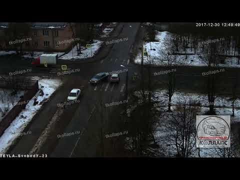 Авария в Красном Селе 30.12.17