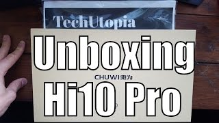 chuwi hi10 pro unboxing and quick hands on remix os best buy 10 inch dual os tablet