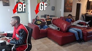 FLIRTING WITH YOUR GIRLFRIEND PRANK ON FUNNYMIKE!! *WILD