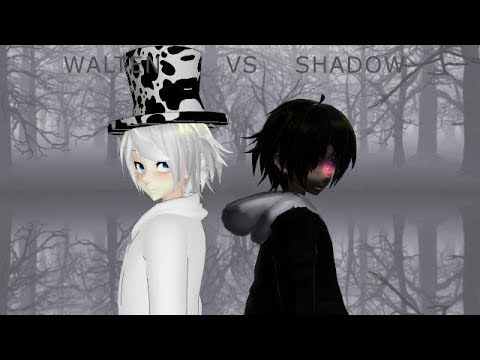 [MMDxSlendytu]  When bae sings during your game (Walten vs  Shadow)