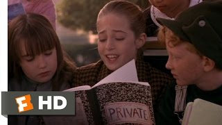 Harriet the Spy (7/10) Movie CLIP - The Private Notebook Revealed (1996) HD