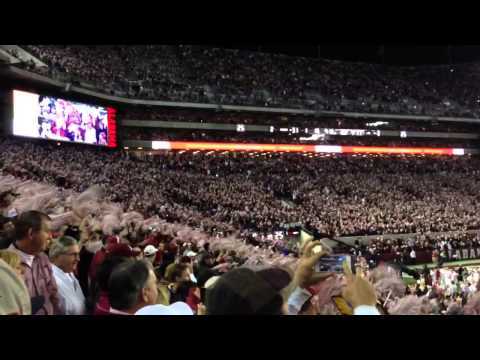 Dixieland Delight Alabama LSU 2013