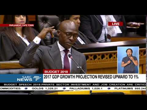 Minister Gigaba quotes Kendrick Lamar