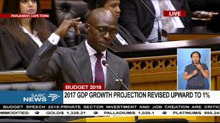 Minister Gigaba quotes Kendrick Lamar