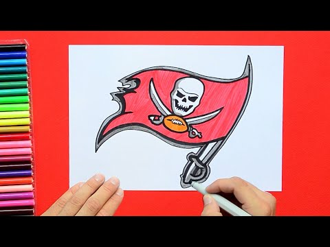 How To Draw The Tampa Bay Buccaneers Logo (NFL Team)