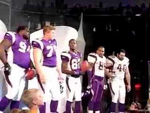 Vikings Uniform Unveiling
