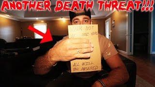 MY LIFE IS IN DANGER! ANOTHER DEATH THREAT | MOE SARGI