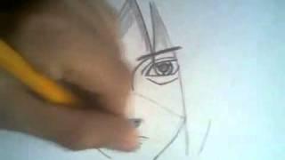 how to draw madara uchiha