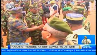 A look at Julius Karangi's journey to the apex of Kenya's military structure