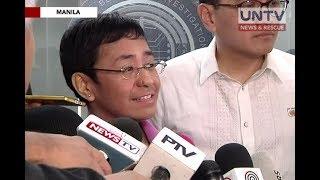 Rappler CEO faces NBI probe on cyber libel complaint