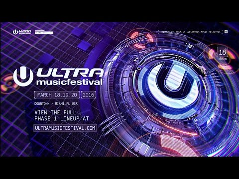 ULTRA MIAMI 2016  PHASE ONE LINEUP ANNOUNCED