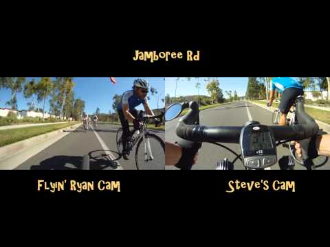 Road Cycling in California - Orange County Loop - GoPro HD