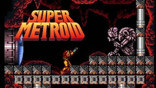 Super Metroid (SNES) - Chapter 10 - Obtaining X-ray Scope & Wave Beam - 100%