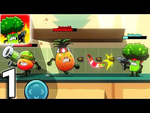 FOOD GANG Tutorial BRO Gameplay Walkthrough Part 1 [Android, Ios]