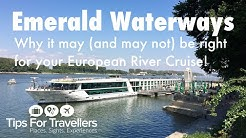 Emerald Waterways European River Cruises. Things you need to know before river cruising with them!!