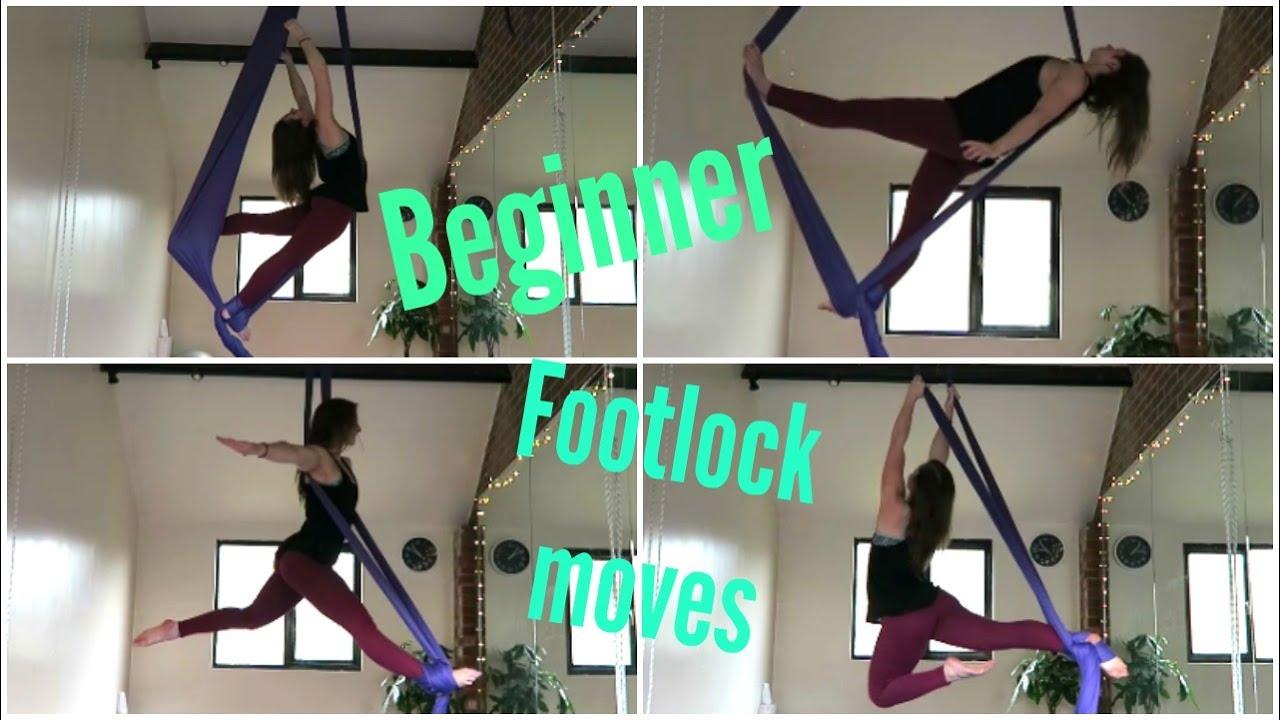 9 Beginner Footlock Moves On The Aerial Silks Unique