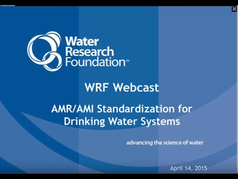 AMR/AMI Standardization for Drinking Water Systems