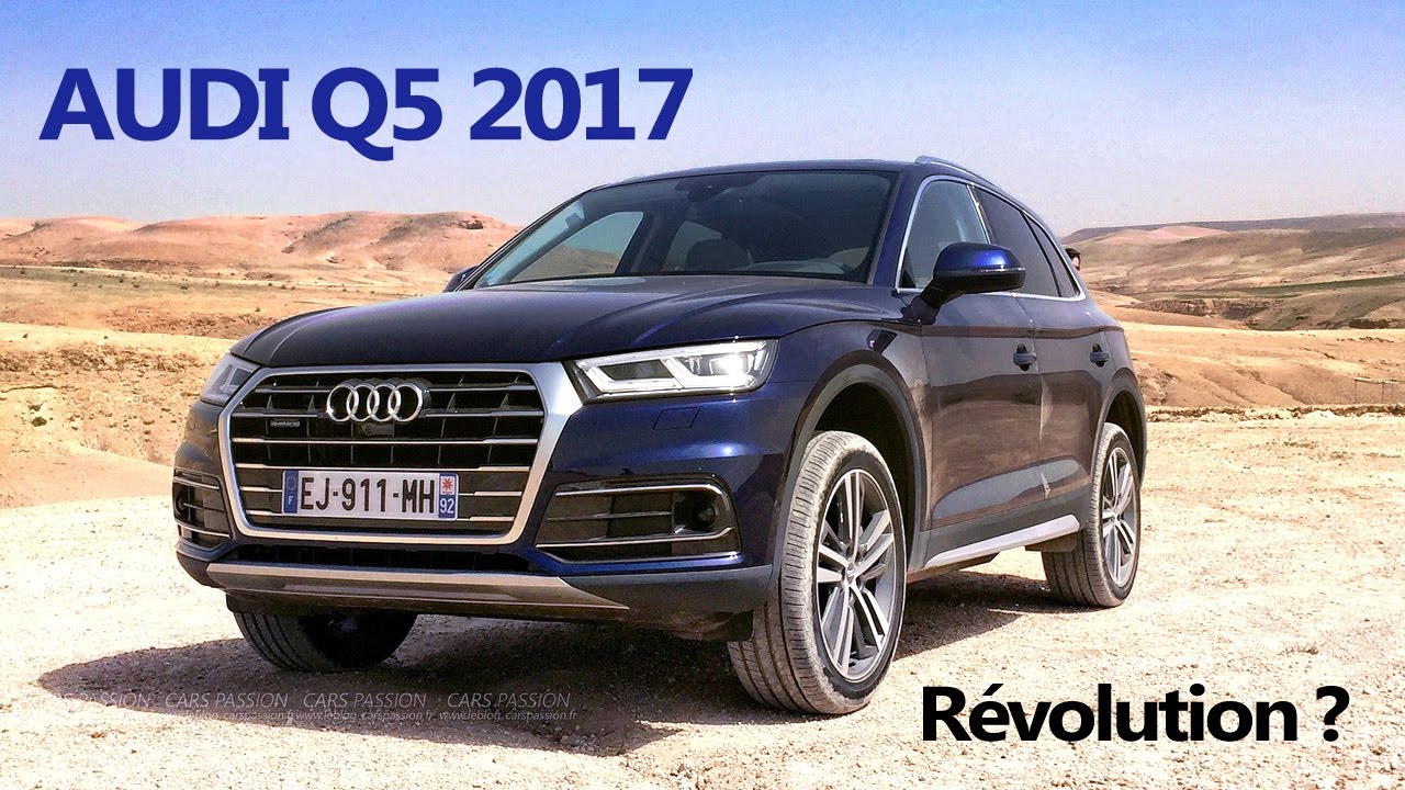 essai audi q5 2017 off road dans le d sert du maroc youtube. Black Bedroom Furniture Sets. Home Design Ideas