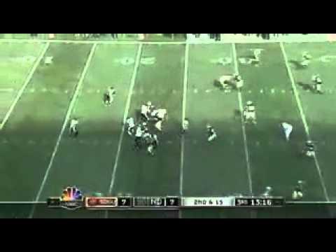 S.D.S.U. Aztecs vs Fighting Irish - 2008 - Notre Dame Football on NBC