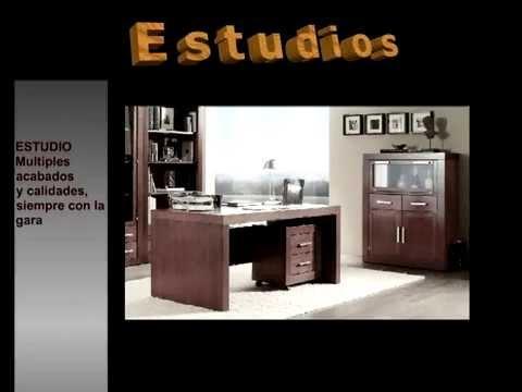Muebles estudio mesas estudio mesas ordenador youtube - Muebles de ordenador ...