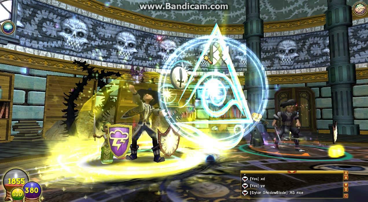 Wizard101 - Simon the Sayer Skeleton key boss - Sunken city