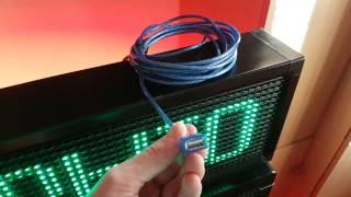 LedshowTW как изменить данные USB