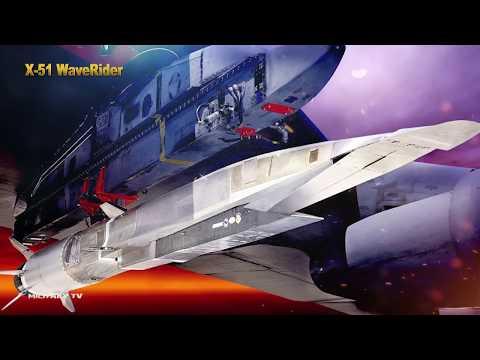X-51A Waverider гиперзвуковая крылатая ракета США