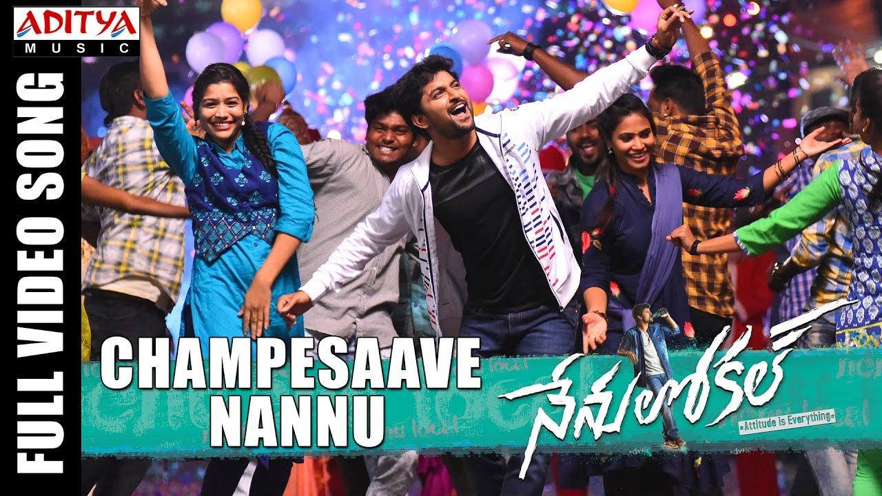 Download Champesaave Nannu Full Video Song || Nenu Local || Nani, Keerthi Suresh || Devi Sri Prasad