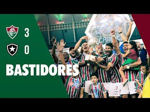 FluTV - Bastidores - Fluminense 3 x 0 Botafogo - Final da Taça Rio