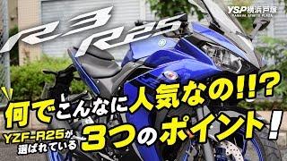 YZF-R25/R3は何でこんなに人気なの!?byYSP横浜戸塚